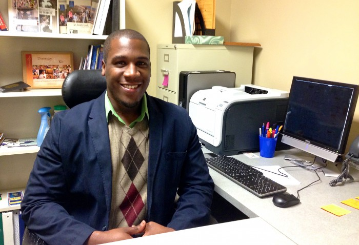 New Faces Series: Brandon Jackson, Coordinator of Multicultural Programs and Residential Communities, Makes Big Plans for Elizabethtown