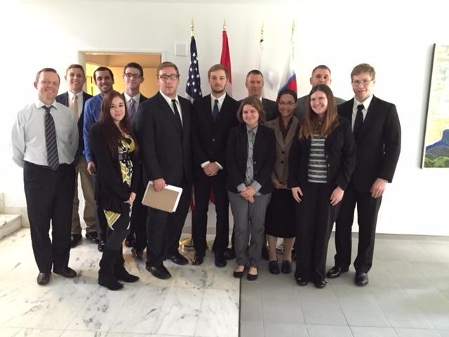 Elizabethtown Students Visit Washington D.C. for European Union Simulation