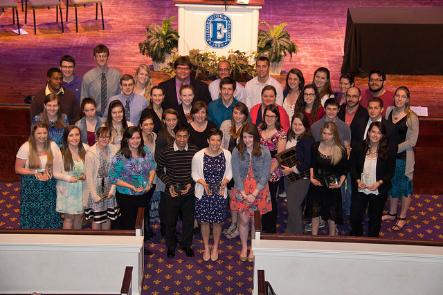 Faculty and Staff Members, Students Honored at 37th Annual Awards Ceremony