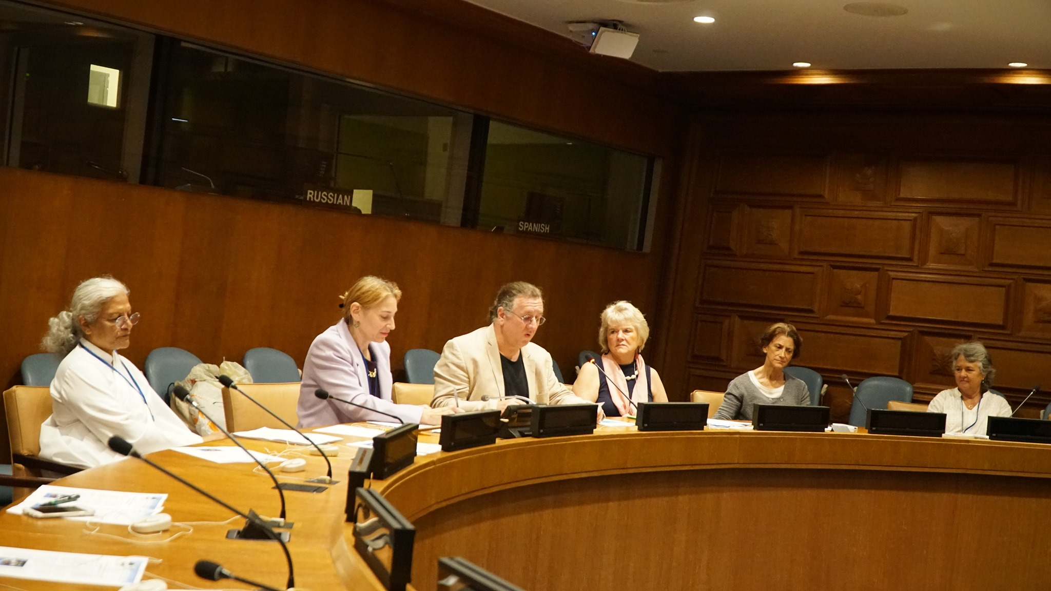 Elizabethtown College Professor Shares Peace Expertise with Panel at the U.N.
