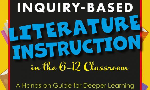 Caprino Authors Inquiry-Based Literature Instruction Book