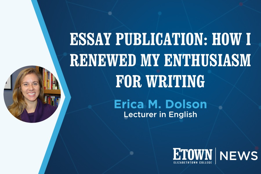 Dolson's Essay Published in Hippocampus Magazine