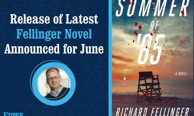 Release of Latest Fellinger Novel Announced for June
