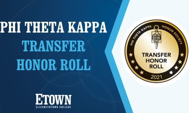 Elizabethtown College Named to Phi Theta Kappa 2021 Transfer Honor Roll