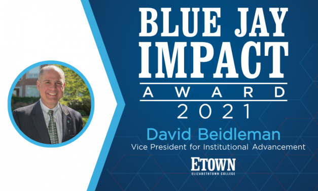 Blue Jay Impact Award Recipient: David Beidleman, Vice President for Institutional Advancement