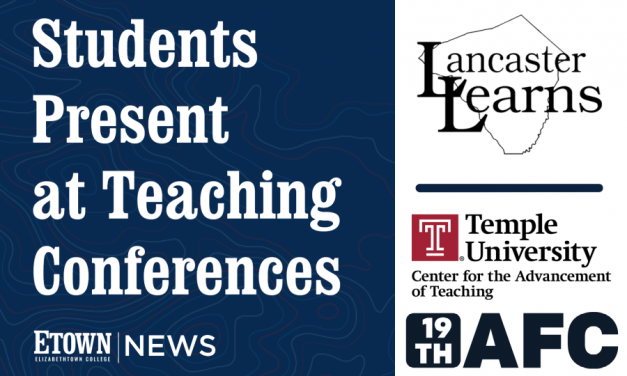 Lorenzen, Students Present at Teaching Conferences