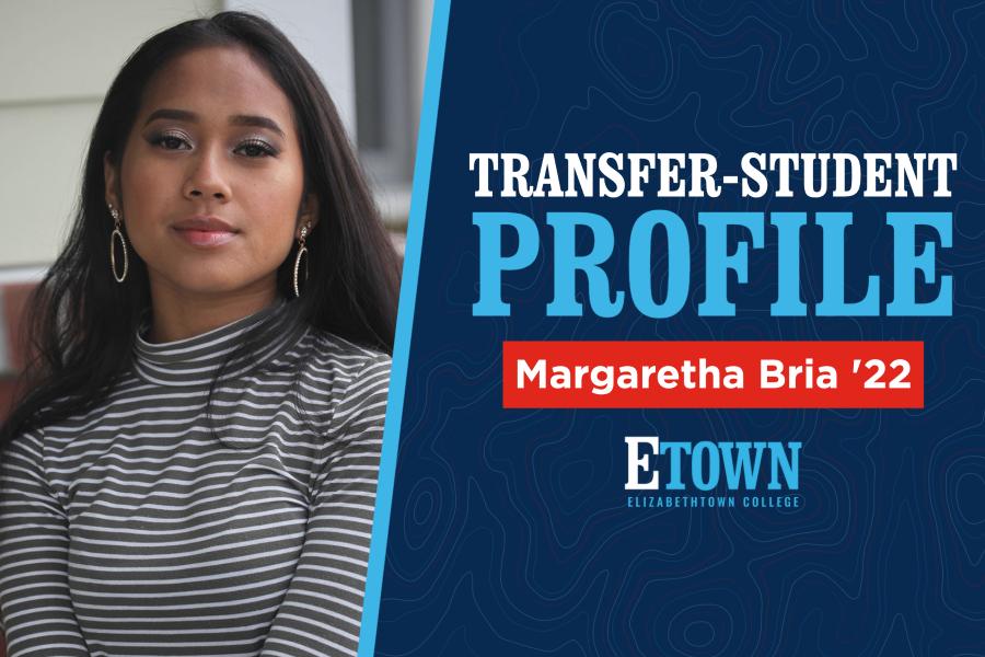 Transfer-Student Profile: Margaretha Bria '22
