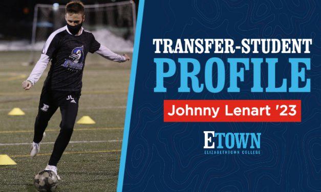 Transfer-Student Profile: Johnny Lenart '23