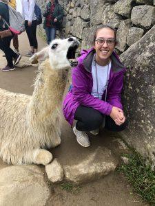 Photo of Kyla Strickler in Peru