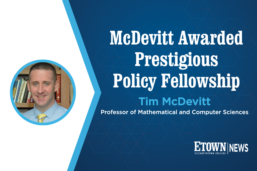 McDevitt Awarded Prestigious Policy Fellowship
