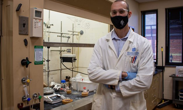 Etown Chemistry Student Honored for his Academic Achievement