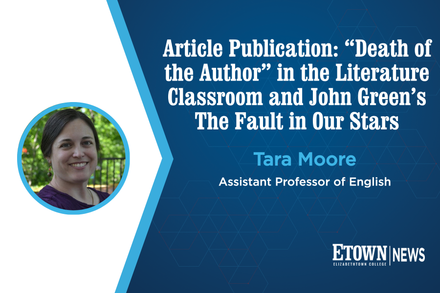 English Professor Publishes Article in Children's Literature in Education Journal