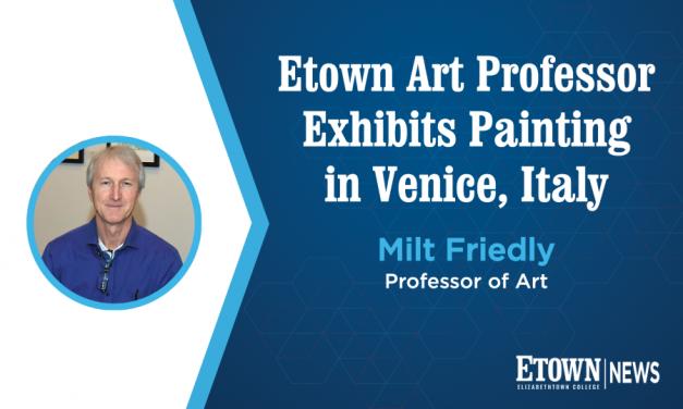 Elizabethtown College Professor Exhibits Painting in Venice, Italy