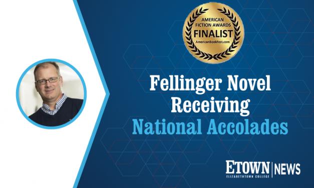 Fellinger Novel Receives National Accolades