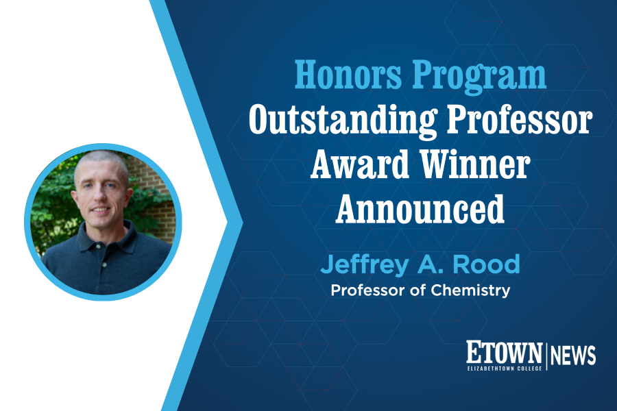 Honors Program Outstanding Professor Award Winner Announced