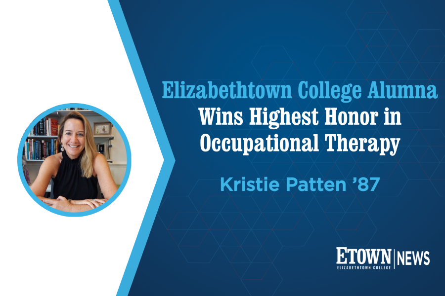 Elizabethtown College Alumna Wins Highest Honor in Occupational Therapy