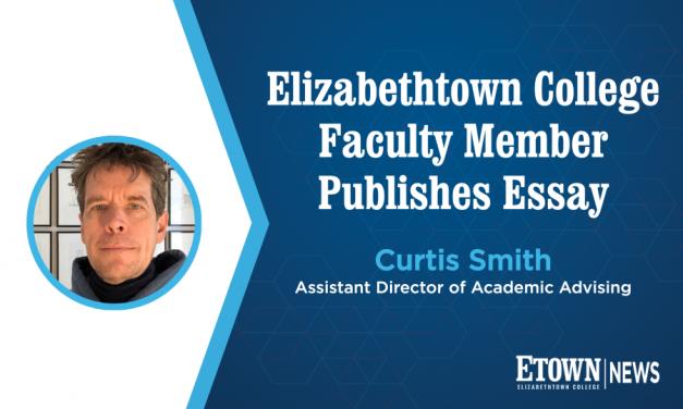 Elizabethtown College Faculty Member Publishes Essay